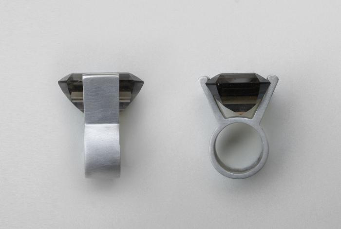 MANUGANDA BINARIO anello ring